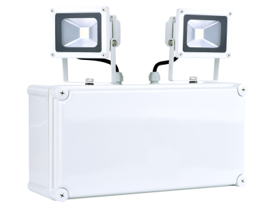 ESQUIRE 20W Emergency Twin Flood Light