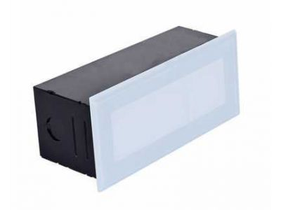 CHUNK 6W Recessed Brick Light